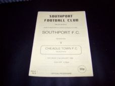 Southport Reserves v Cheadle Town Reserves, 1994/95 [jan]